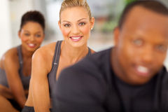 Fitness people aerobic Royalty Free Stock Photography