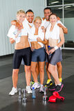 Fitness people in gym Stock Image