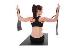 Fitness - Pilates Stock Images