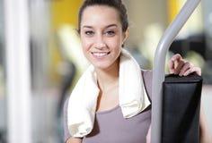 Fitness portrait Stock Image
