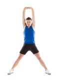 Fitness portrait Stock Photo