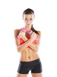 Fitness portrait Royalty Free Stock Image