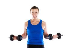 Fitness portrait Royalty Free Stock Photo