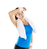 Fitness portrait Royalty Free Stock Images