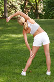 Fitness portraits Royalty Free Stock Photos