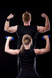 fitness posing στοκ εικόνα με δικαίωμα ελεύθερης χρήσης