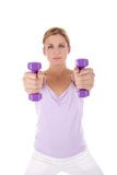 Fitness programme royalty free stock image