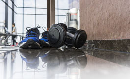 Fitness room Royalty Free Stock Images