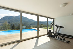 Fitness room, interior Stock Image