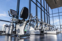 Fitness room Royalty Free Stock Photos