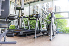 Fitness room Stock Image