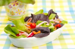 Fitness salad Stock Photo