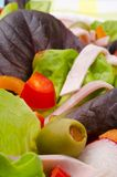 Fitness salad Stock Image