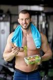 Fitness salad Stock Photos