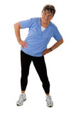Fitness for seniors Stock Photo