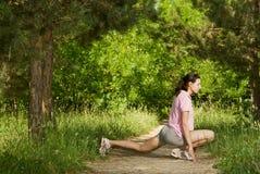 Fitness series stock photo