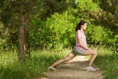 Fitness series Stock Photos