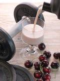 Fitness shake Stock Image