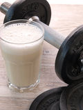 Fitness shake Stock Images