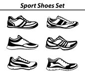Fitness Shoes Stock Image