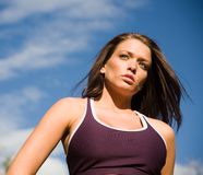 Fitness shoot Royalty Free Stock Image