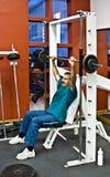 fitness siłowni fizycznej szkolenia Obraz Royalty Free