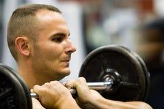 fitness siłowni fizycznej szkolenia zdjęcie stock