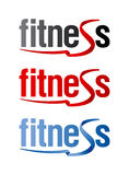Fitness signs. Stock Photo
