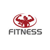Fitness silhouette character vector design temp Stock Photos