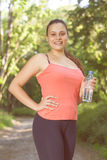 Fitness Smiling Healthy Young Woman Royalty Free Stock Photos