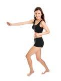 fitness smiling women στοκ εικόνες