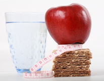 Fitness snack. Healthy snack for fitness and wellness Royalty Free Stock Photo