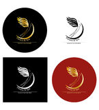 Fitness and spa logo. Fitness and spa logo concept. Vector illustration Stock Images