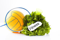 Fitness and sport equipment Stock Photography