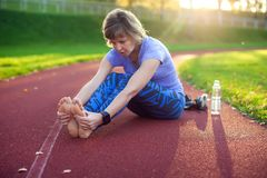 Fitness, sport, exercising and healthy lifestyle concept - young royalty free stock photo