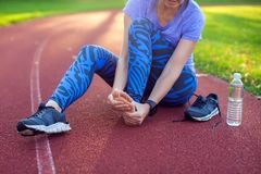 Fitness, sport, exercising and healthy lifestyle concept - young royalty free stock photography