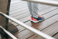 Fitness sport footwear Royalty Free Stock Photo