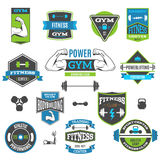 Fitness And Sport Labels Stock Images