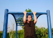 Fitness, sport, oefenings, opleidings en levensstijl concept Royalty-vrije Stock Foto