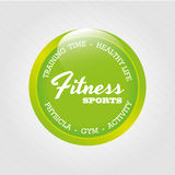 Fitness sports Royalty Free Stock Photography