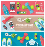 Fitness and sports Stock Photo
