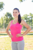 Fitness, Sporty ,Healthy Lifestyle , Smiling Female Relaxing Stock Photos