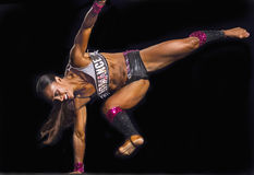Fitness Star Burns Brightly at Vancouver Contest Stock Photo