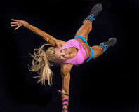 Fitness Star Shines at Vancouver Contest Stock Photography