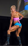 Fitness Star Shines at Vancouver Contest Royalty Free Stock Photos