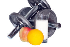 Fitness a still-life Royalty Free Stock Photography