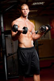 Fitness strength. Stock Images