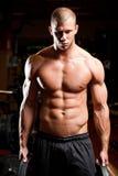 Fitness strength. Royalty Free Stock Photos