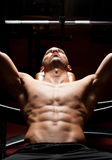 Fitness strength. Stock Image