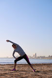 Fitness stretch Stock Photography